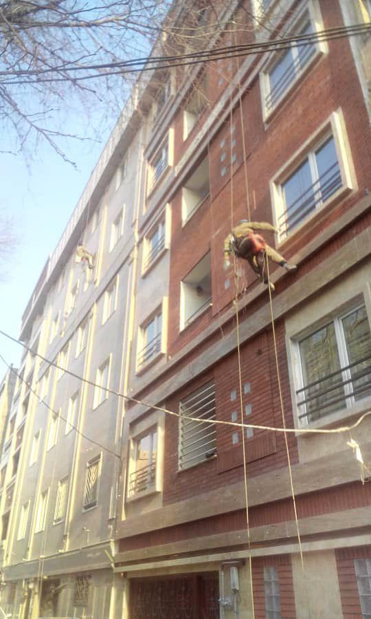 اببندی نمای ساختمان